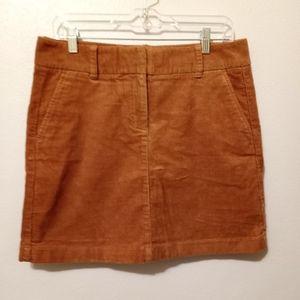 Vinyard Vines Corduroy Mini skirt in Oatmeal 8